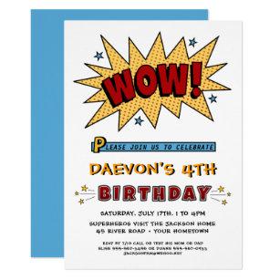 4th birthday invitations zazzle add name 4th or any age birthday party invitation filmwisefo
