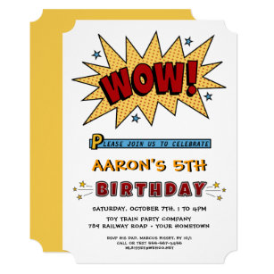 5th birthday invitations zazzle add name 5th or any age birthday party invitation filmwisefo