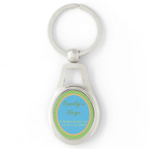 ADD NAME AND INFO TO CUSTOMIZABLE KEY CHAIN