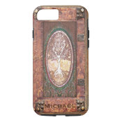 Add Name | Antique Book iPhone 7 Case (<em>$34.80</em>)