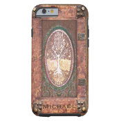 Add Name | Antique Book Tough iPhone 6 Case (<em>$34.80</em>)