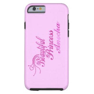 Add Name Beatiful Princess iPhone 6 case