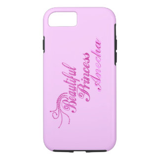 Add Name Beatiful Princess iPhone 7 case