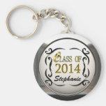 Add Name Class Of 2014 Graduation Keychain Keychains
