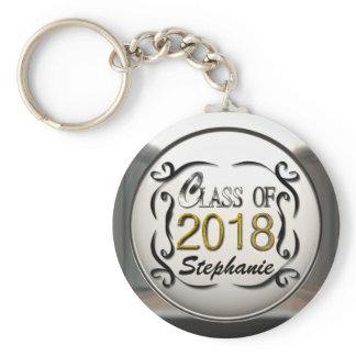 Add Name Class Of 2018 Graduation Keychain