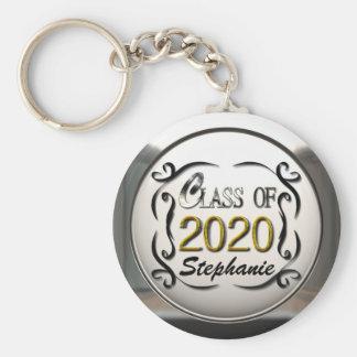 Add Name Class Of 2020 Graduation Keychain