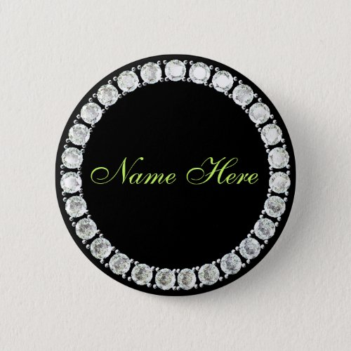 Add name_customizable diamond pinback button