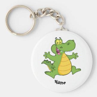 Add name DRAGON cartoon Kids Keychain