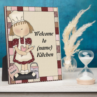 Add Name Kitchen Plaque
