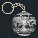 "Add Name | Memorial | Tree of Life Keychain<br><div class=""desc"">Add a name to this Tree of life key chain to make a gift they will treasure.</div>"