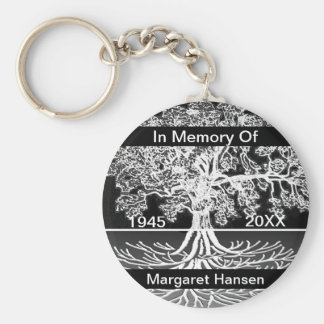 Add Name | Memorial | Tree of Life Keychain