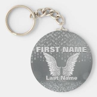Add Name | Silver Tears Keychain