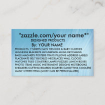 """ADD  NAME   zazzle.com/your name*"""" -BUSINESS CARD"""