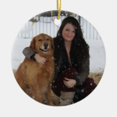 Add Pet Photo/person Christmas Tree Ornament at Zazzle