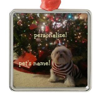 Add Pet Photo/Person Christmas Tree Ornament