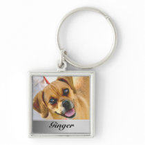 Add Photo And Name Custom Premium Keychain