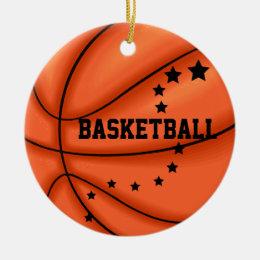 Add Photo Basketball Star Ornament