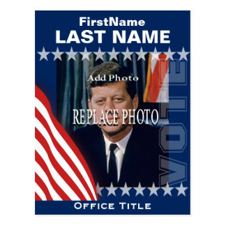 Add Photo | Campaign Template Postcard