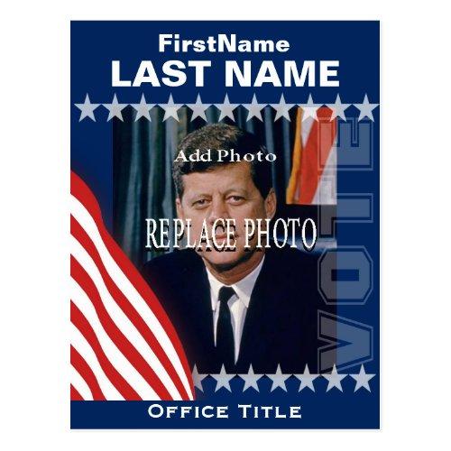 Add Photo  Campaign Template Postcard