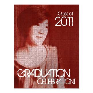Add Photo Class of 2011 Invitation Vintage 1