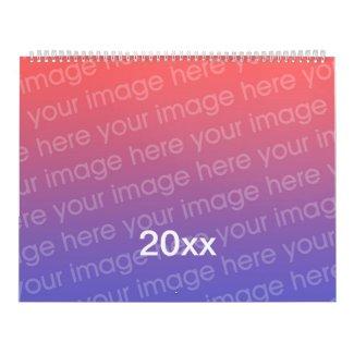 Add Photo Custom Printed Calendar for 20xx