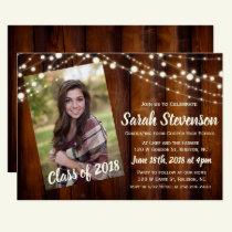 ADD PHOTO - Graduation Announcement Invitation