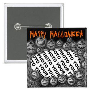 Add Photo Halloween Button Pumpkin 1