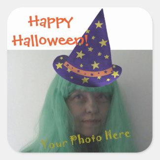 Add Photo Halloween Wizard Stickers