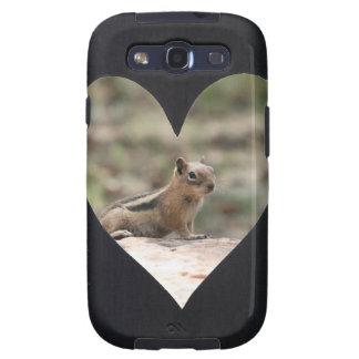 Add Photo Heart Frame(black) Samsung Galaxy SIII Covers
