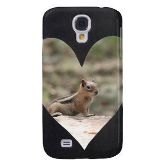Add Photo Heart Frame(black) HTC Vivid / Raider 4G Case