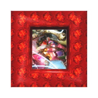 Add photo or art to frame in tomateos gallery wrapped canvas