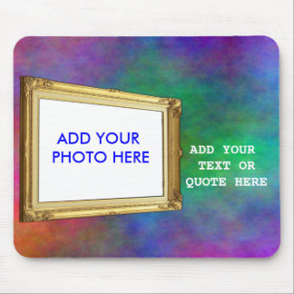ADD PHOTO OR TEXT IN FRAME-MOUSEPAD MOUSE PAD