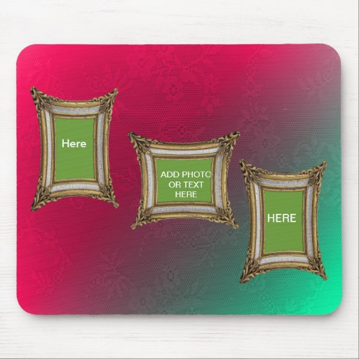 ADD PHOTO OR TEXT IN FRAME-MOUSEPAD-