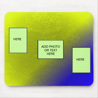 ADD PHOTO OR TEXT IN FRAME-MOUSEPAD- MOUSE PAD