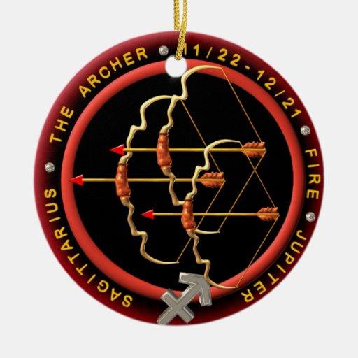 Add photo to Valxart  Sagittarius zodiac ornament