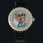 """ADD PHOTO-WATCH WATCH<br><div class=""""desc"""">ADD PHOTO -WATCH---PRESIDENT AND MRS. OBOMA-ADD YOUR OWN PHOTO OR TEXT</div>"""