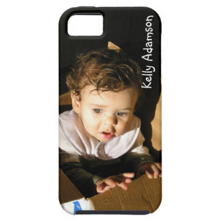 Add Pic of Your Adorable Child Here: Personalized iPhone SE/5/5s Case