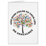 Add Some Color To Your Life Greeting Card