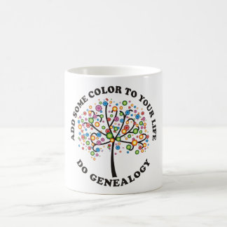 Add Some Color To Your Life Classic White Coffee Mug
