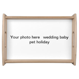 Add special photo to Serving tray