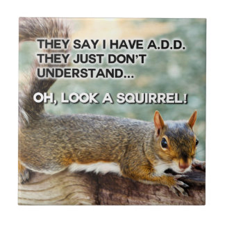ADD Squirrel Photo Tile