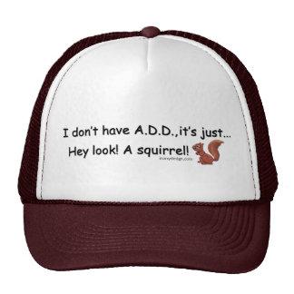 ADD Squirrel Trucker Hat
