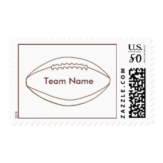 Add Team Name football Outline stamps