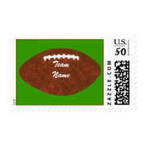 Add Team Name Football Personalized Stamps
