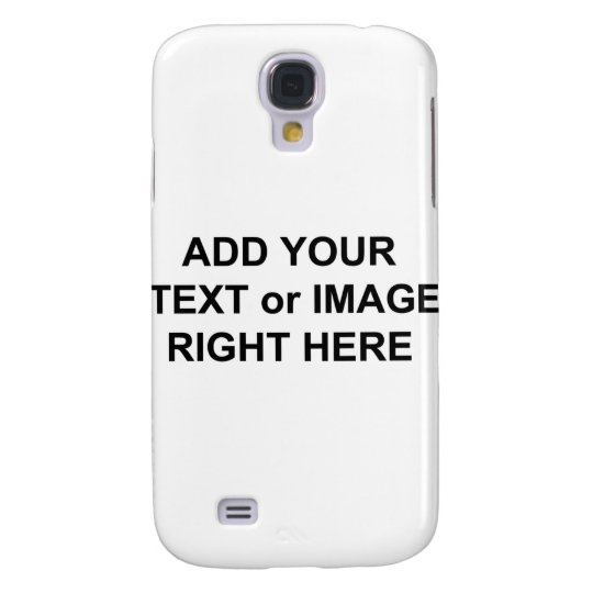 Add Text and Images To Personalize Gifts Samsung Galaxy S4 Case