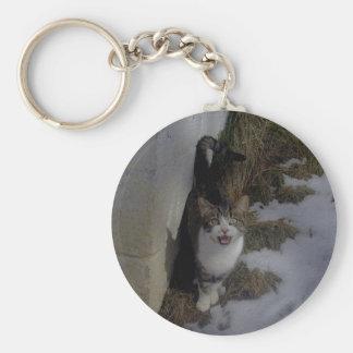 Add Text To Kitty! Key Chain