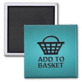 Add to basket concept. magnet