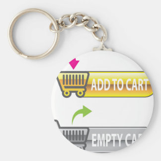 Add to Cart Button Empty Cart Button Keychain