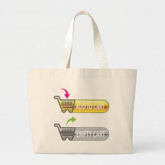 Add to Cart Button Empty Cart Button Large Tote Bag