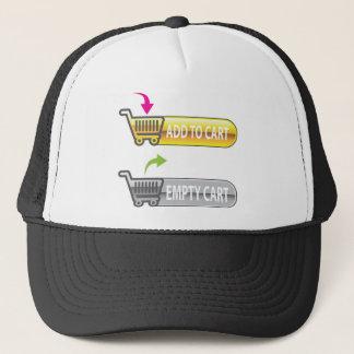 Add to Cart Button Empty Cart Button Trucker Hat